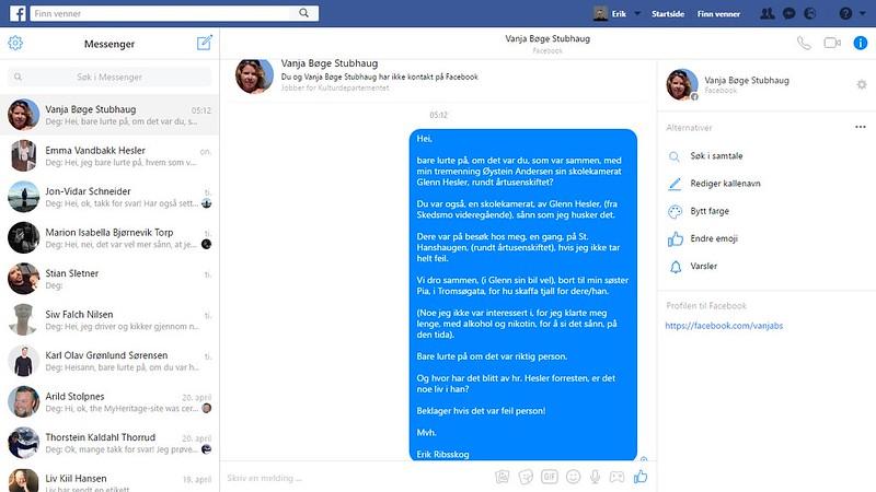 facebook bøge stubhaug