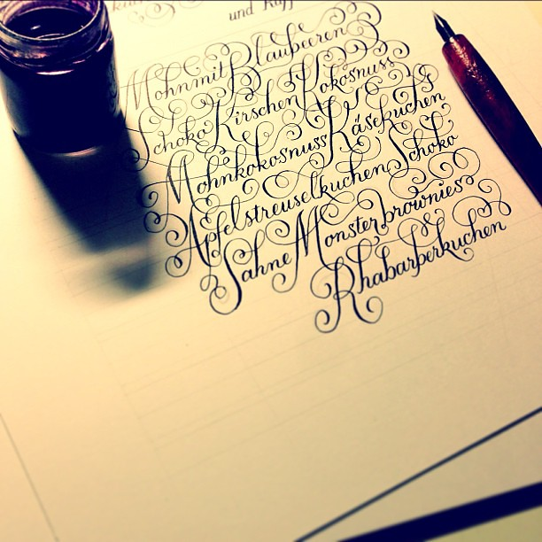 A job as an exercise exercises for a job calligraphy l Calligraphy as a career