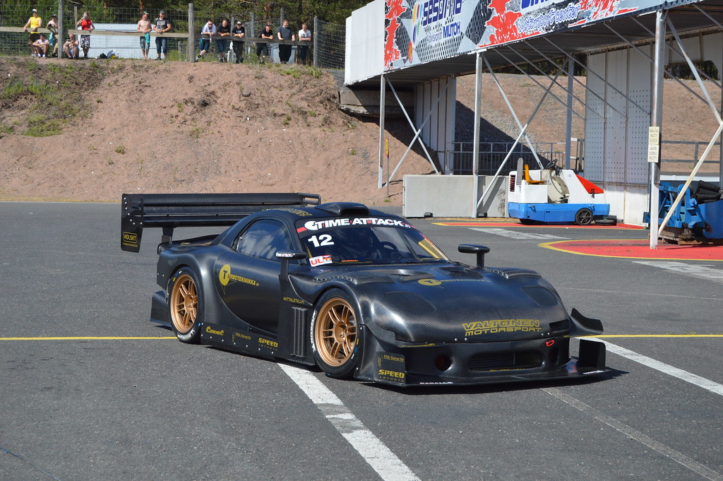 Mazda Rx7 Time Attack Mazuni Wessis Flickr