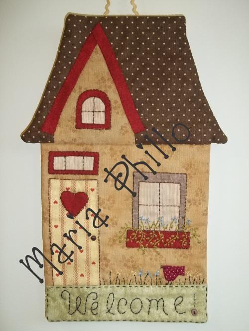 Retirado da net esse trabalho n o meu s coloco para - Casas de patchwork ...