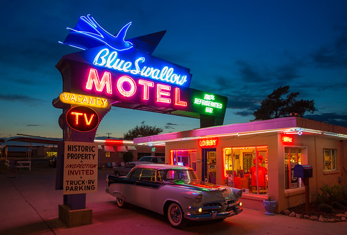 The most famous neon on the Route | Do you think I will ...
