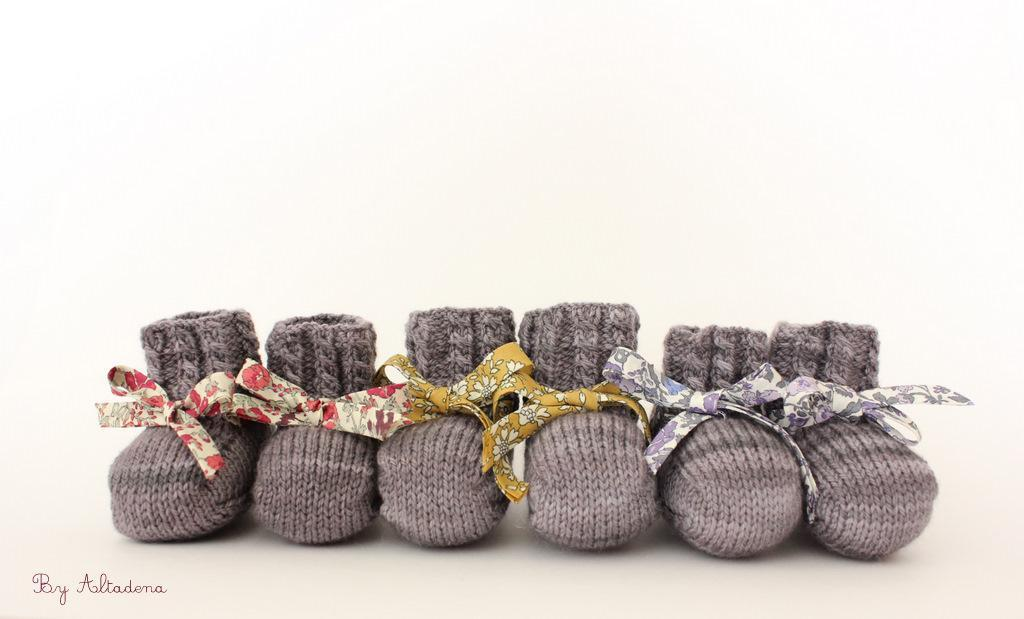 Knit Baby Booties Pattern On Craftsy Visit The Craftsy Blo Flickr
