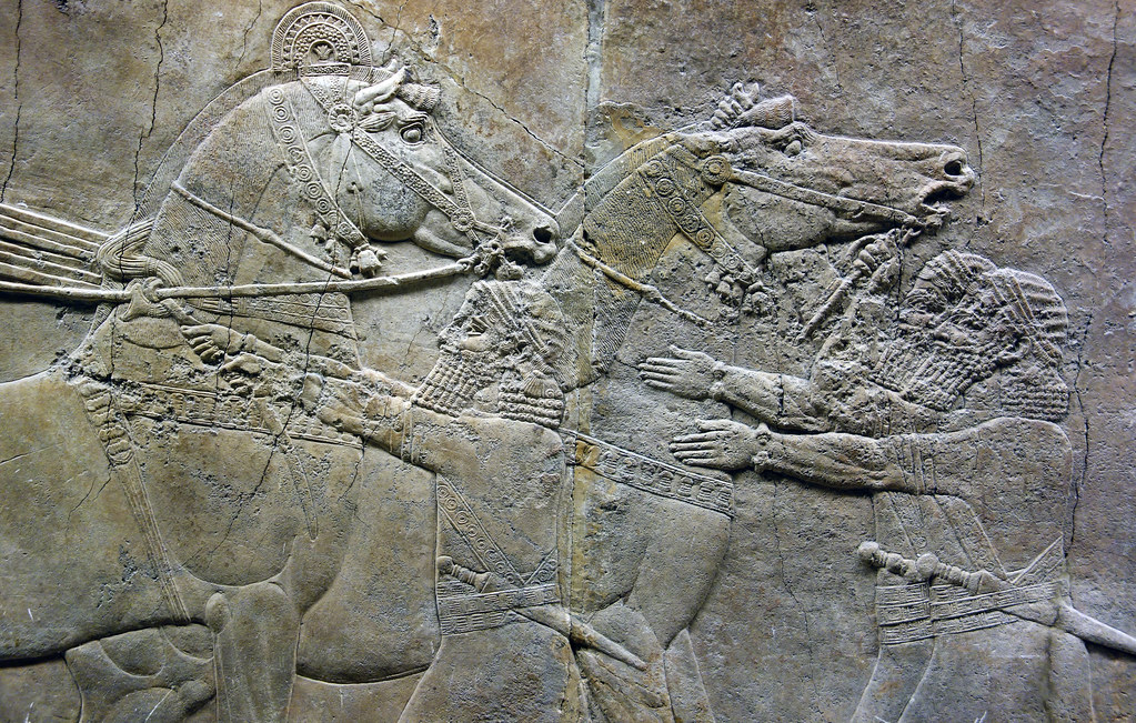 ashurbanipal hunting lions essay Ashurbanipal hunting lions, gypsum hall relief from the north palace, ninevah, c 645-635 bce, excavated by h rassam beginning in 1853 (british museum) speakers: dr steven zucker & dr beth harris.