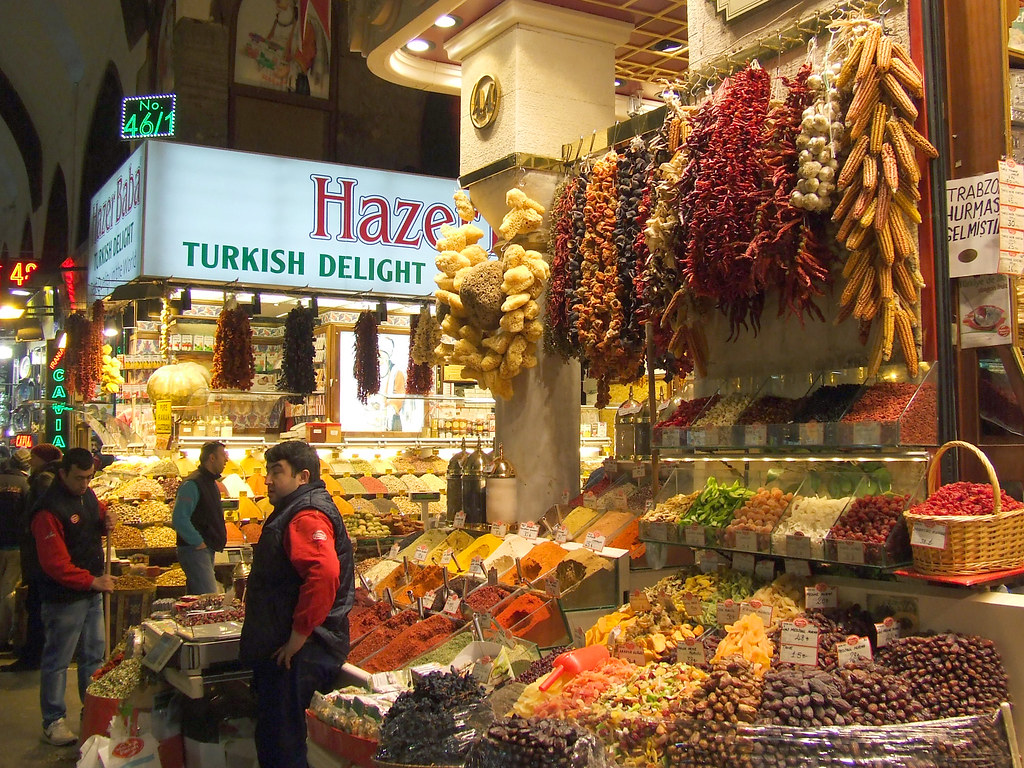 Misir Carsisi (Egyptian Spice Bazaar), Istanbul, Turkey