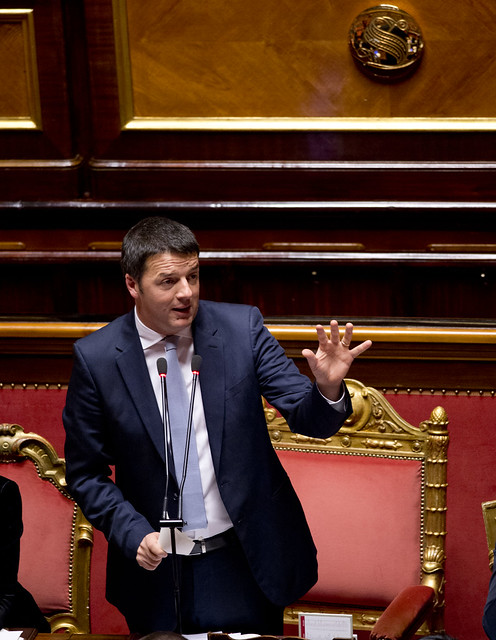 Renzi al senato comunicazioni in parlamento per il for Parlamento senato