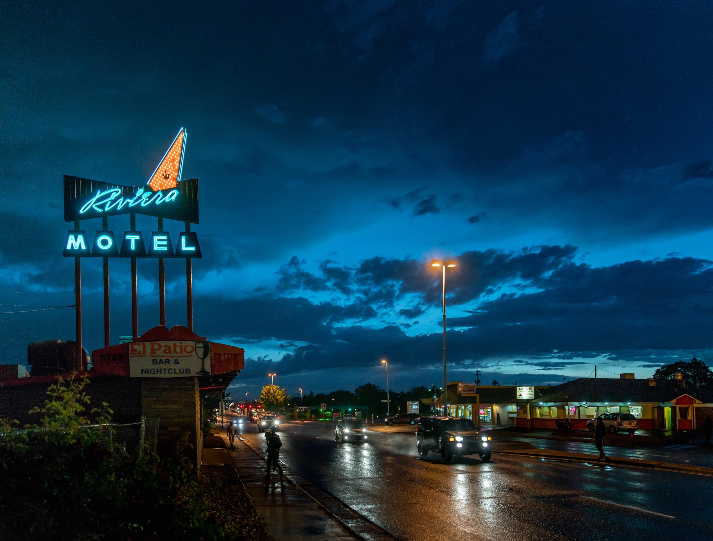 Riviera Motel - 9100 East Colfax Avenue, Aurora, Colorado U.S.A. - June 13, 2016