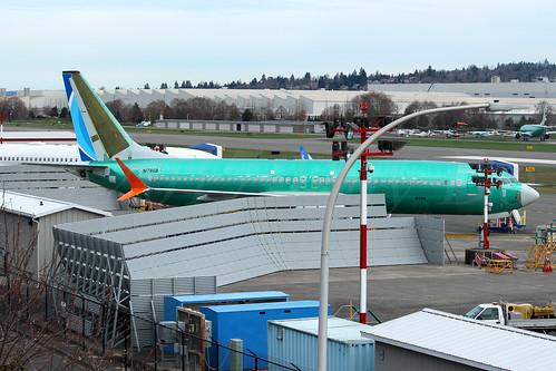 Boeing 737 MAX 8 FlyDubai LN6326