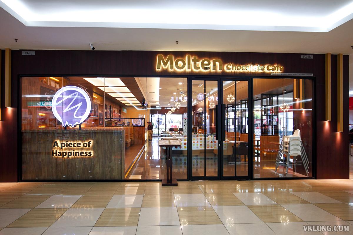 Melaka Molten Chocolate Cafe