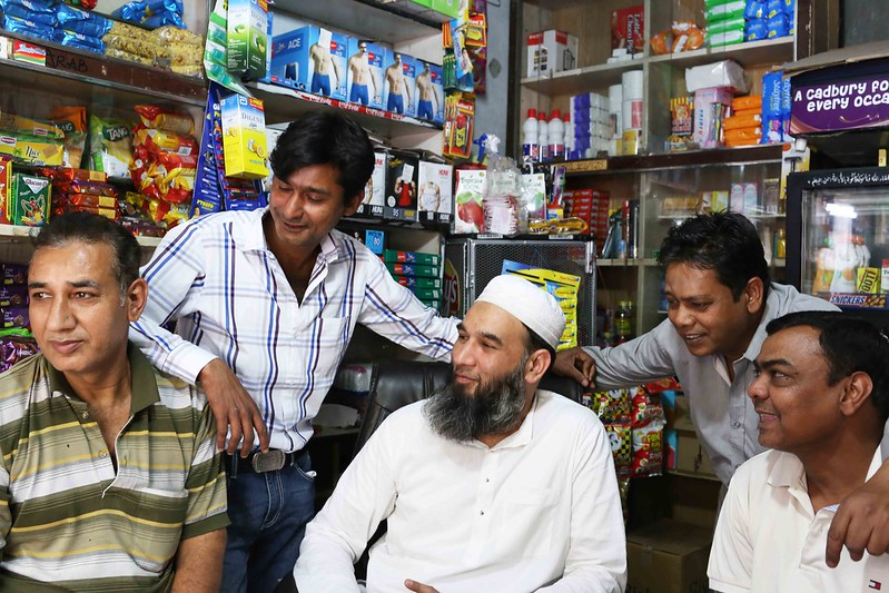 City Life - 'Friends Forever' of Arab Sarai General Store, H. Nizamuddin Basti