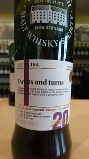 SMWS 35.184 - Twists and turns