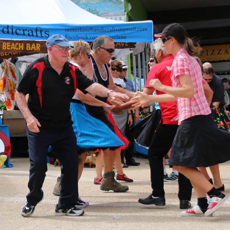 Waihi's Beach Hop Warm Up Party 2017
