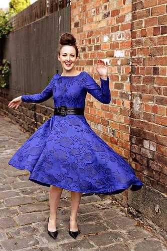 Blue Dress #2