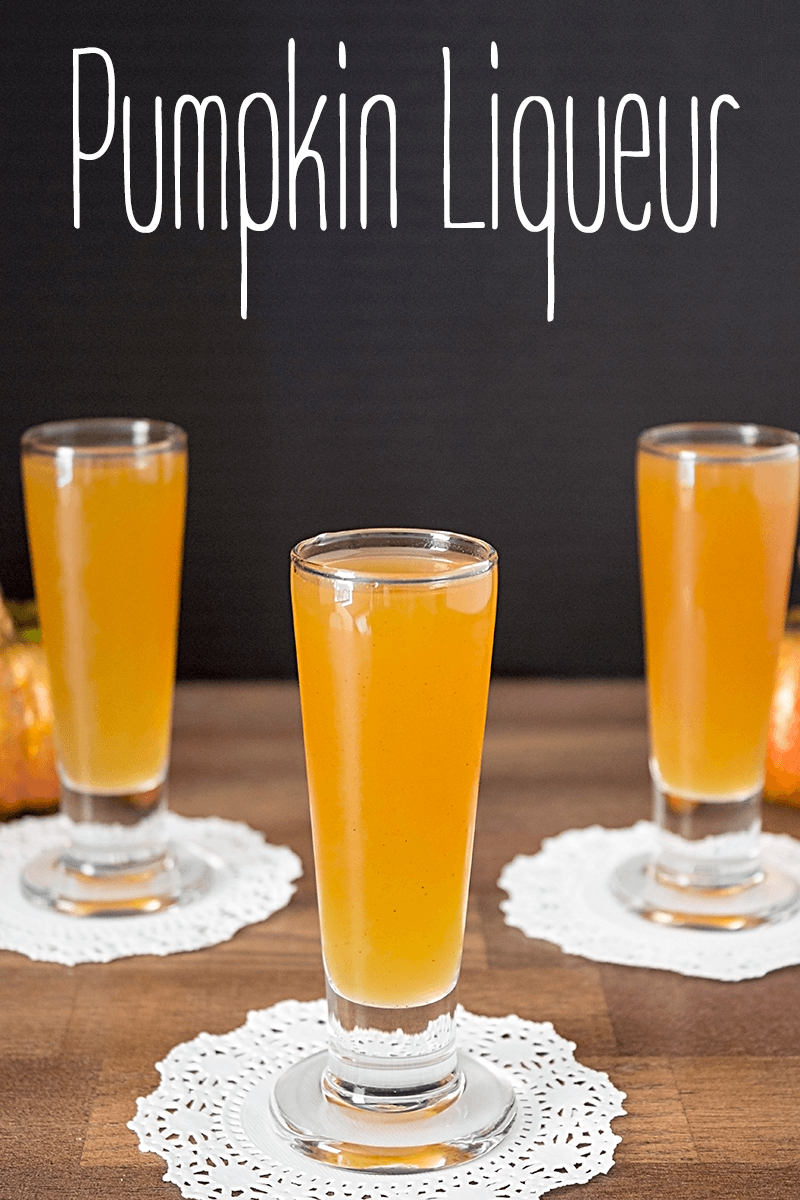 Pumpkin Pie Liqueur