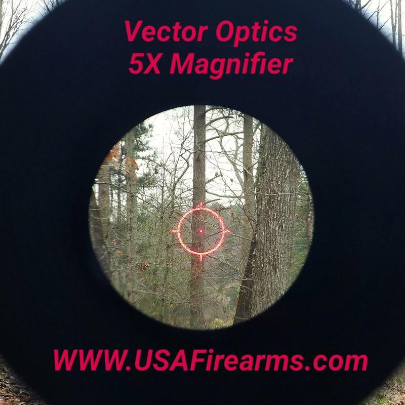 ar15 dpms w eotech 512 5x magnifier vector optics semi auto
