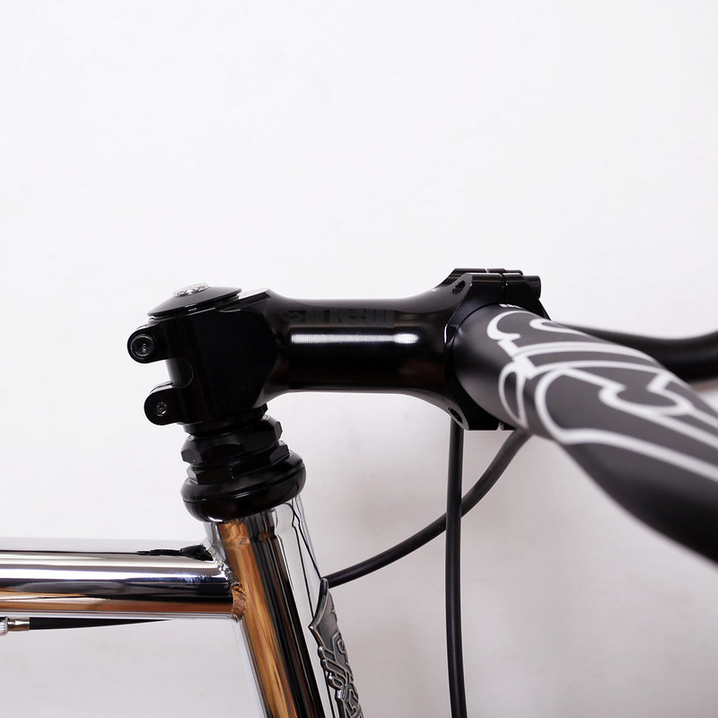 Steel Era Frame Chrome Edition Work by Above Bike Store