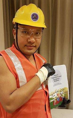 Hard hat Karmapa