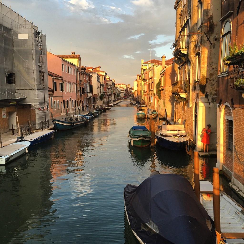 Auringonlasku Venetsiassa
