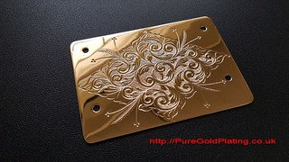 Gold Plated Panel | by PureGoldPlating