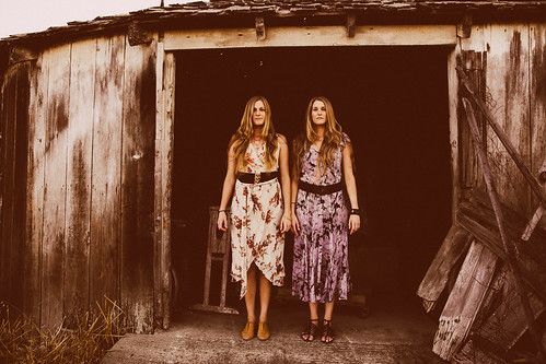 Shook Twins | Photo by Blue Gabor Caleel | by KBGA College Radio | 89.9 F.M