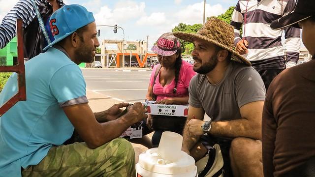 Venezolanos: historias de la frontera seca