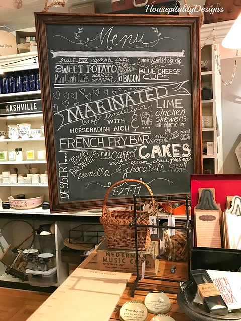 Chalkboad Art-Gather Shop, Midlothian, VA-Housepitality Designs