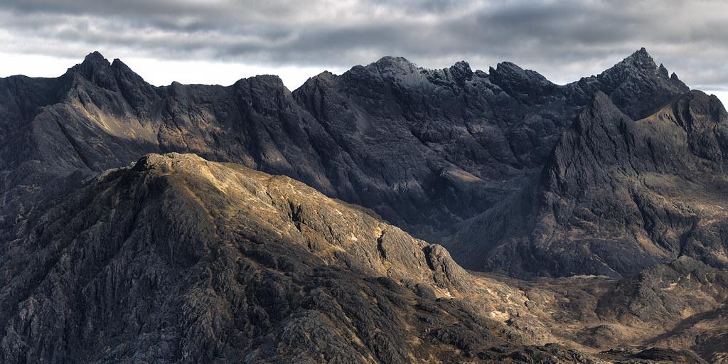 The Ridge | The Ridge of the Cuillin Mountains on The Isle ...