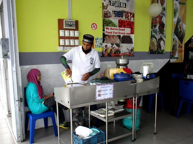 D'CAFÉ RIA nasi Arab stall