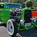 Green Hot rod