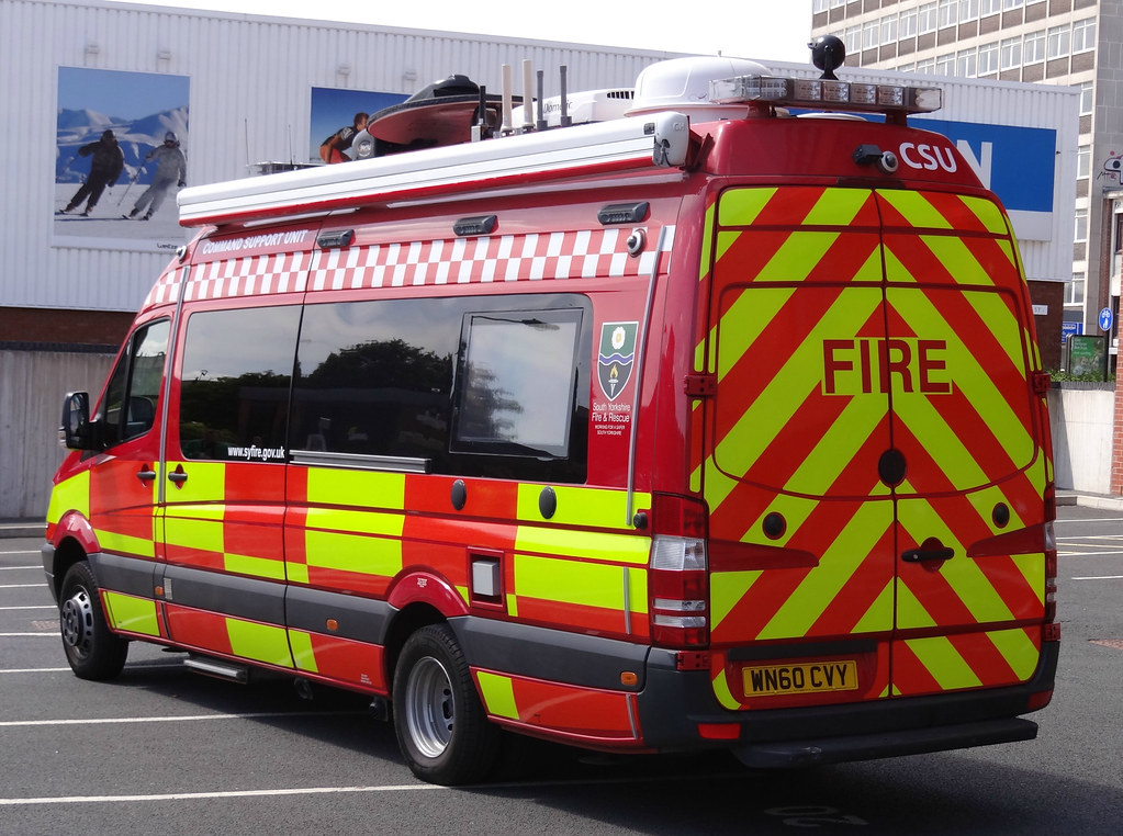 South Yorkshire Fire Amp Rescue Service Mercedes Sprinter Co