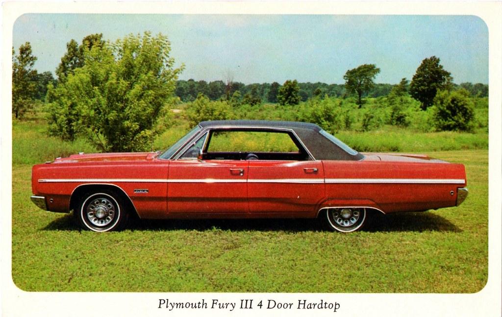 1968 Plymouth Fury III 4 Door Hardtop