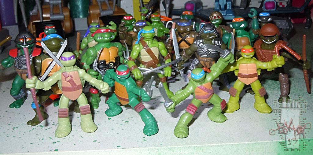 Nickelodeon Teenage Mutant Ninja Turtles Mini Turtle Fi