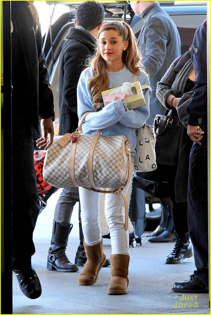Ariana Grande Los Angeles Ca Ariana Grande Arrives At