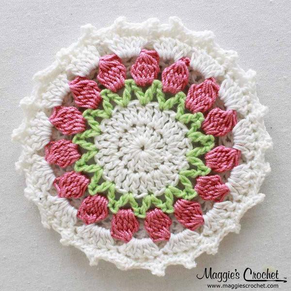 Holiday CD Coaster Crochet Patterns PA950