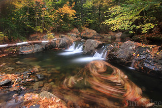 Ossipee Stream Swirl | by Jim Salge