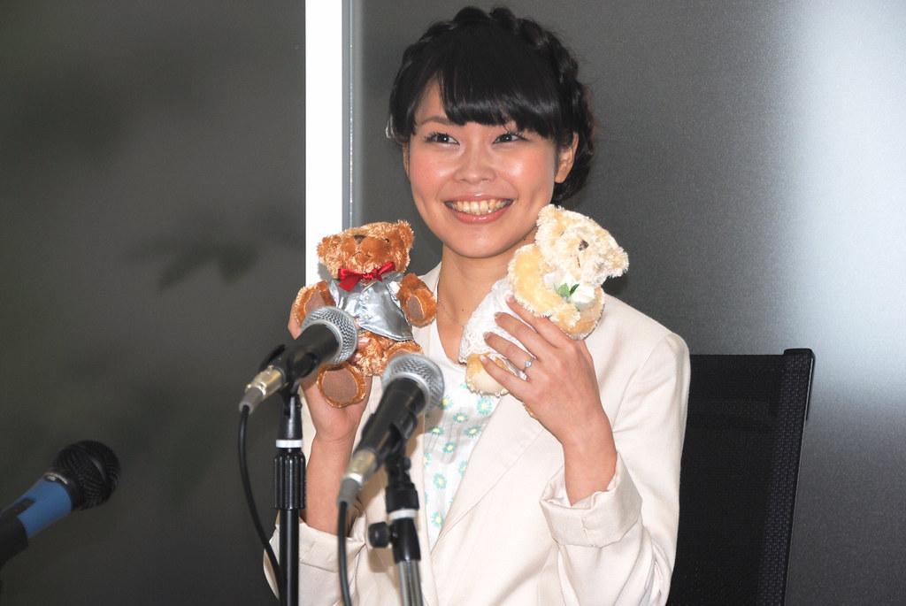 140303(1) - 破天荒開記者會、聲優「儀武ゆう子」2日宣布結婚、邀請動畫迷參加6/1《幸福光暈》婚宴!