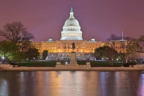 Washington DC Capitol - Purple Hour HDR | by Bold Frontiers