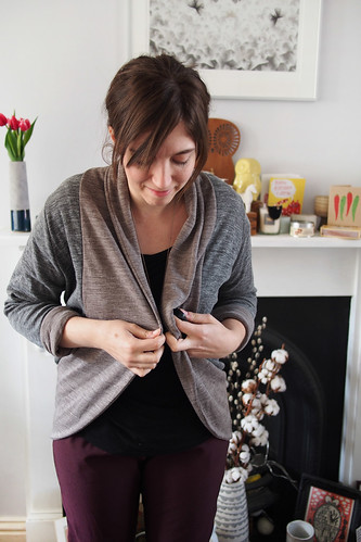Julia cardigan | by What Katie Does