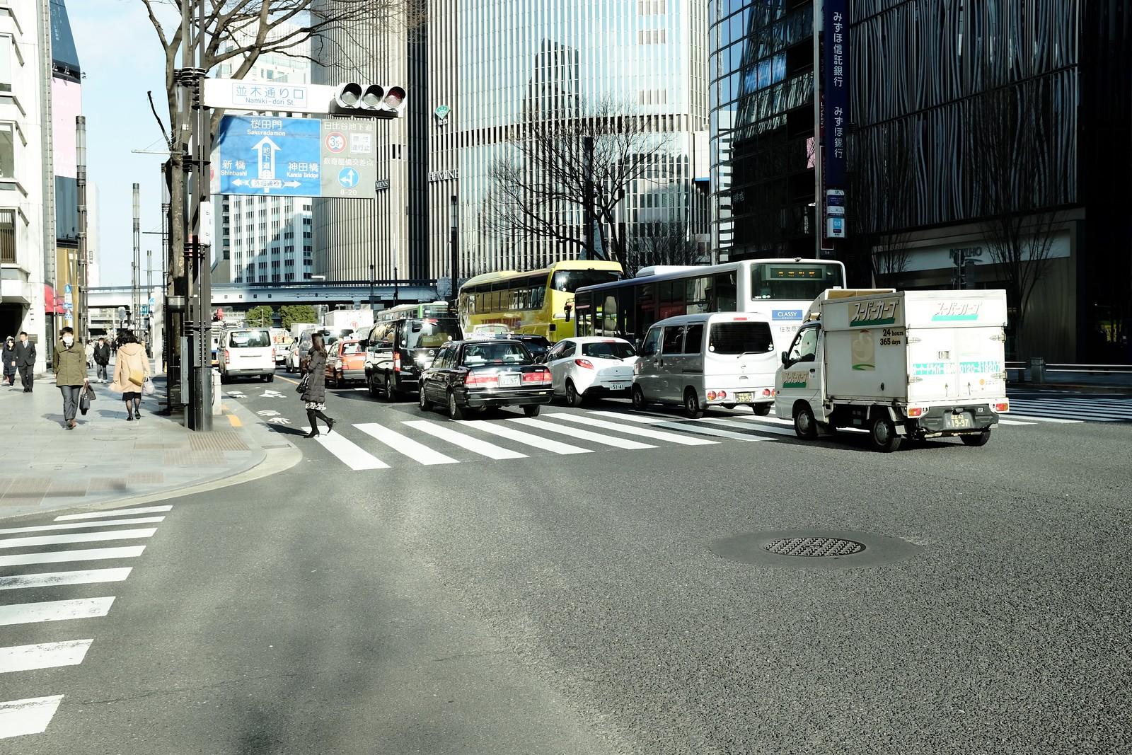 The Ginza taken by FUJIFILM X100S