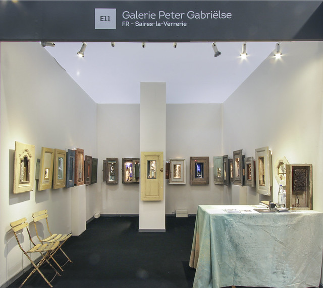 Peter Gabrielse exhibition at Eurantica 2017
