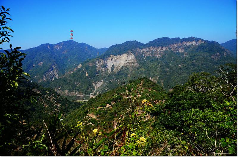 竹頭山山頂西北望 1