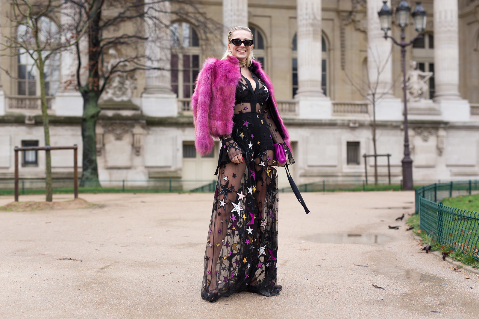 Street Style - Caroline Vreeland, Paris Fashion Week