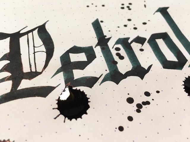 Ink Shot Review Lamy Petrol @Fontoplum0 @Lamy 11