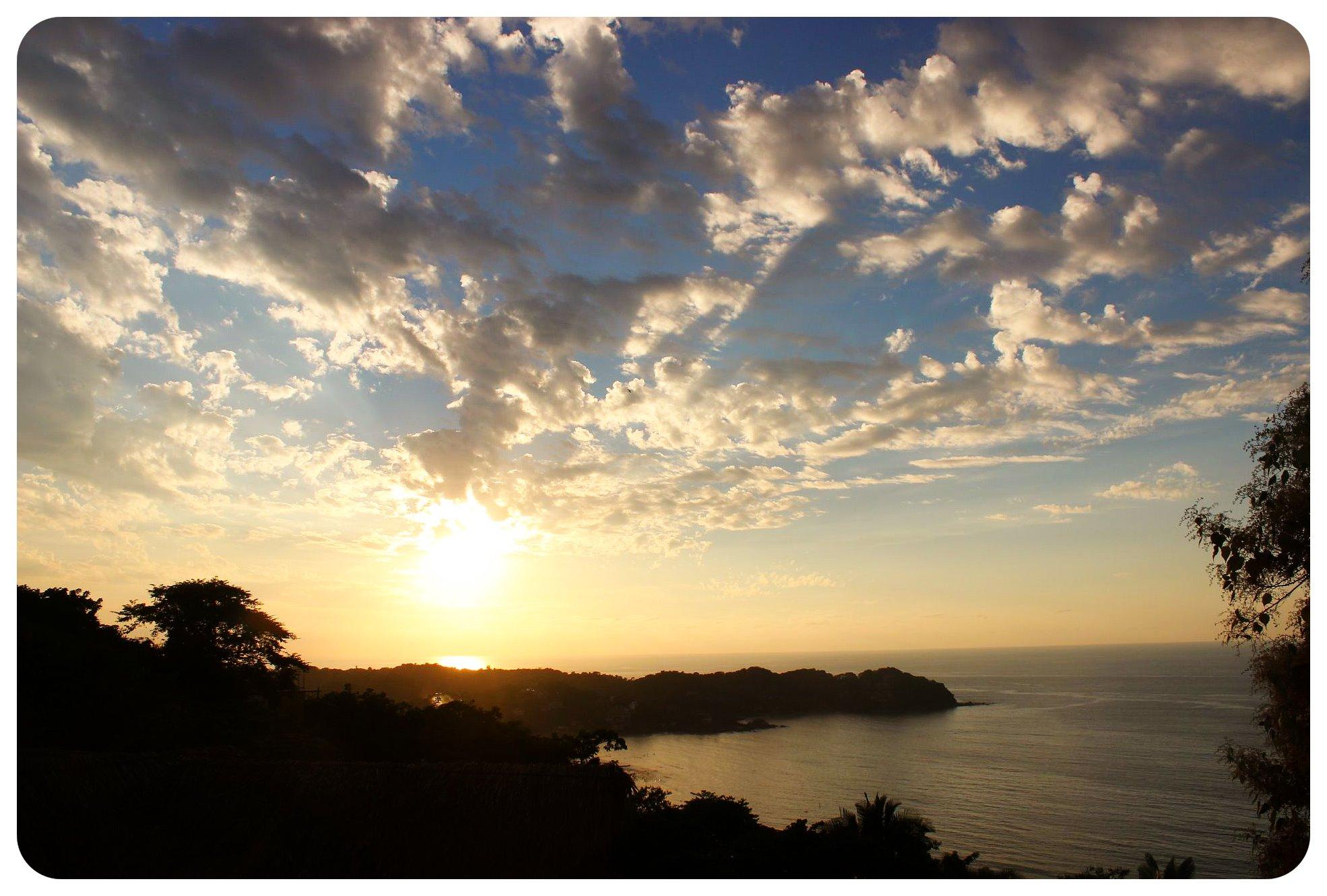 sunset sayulita