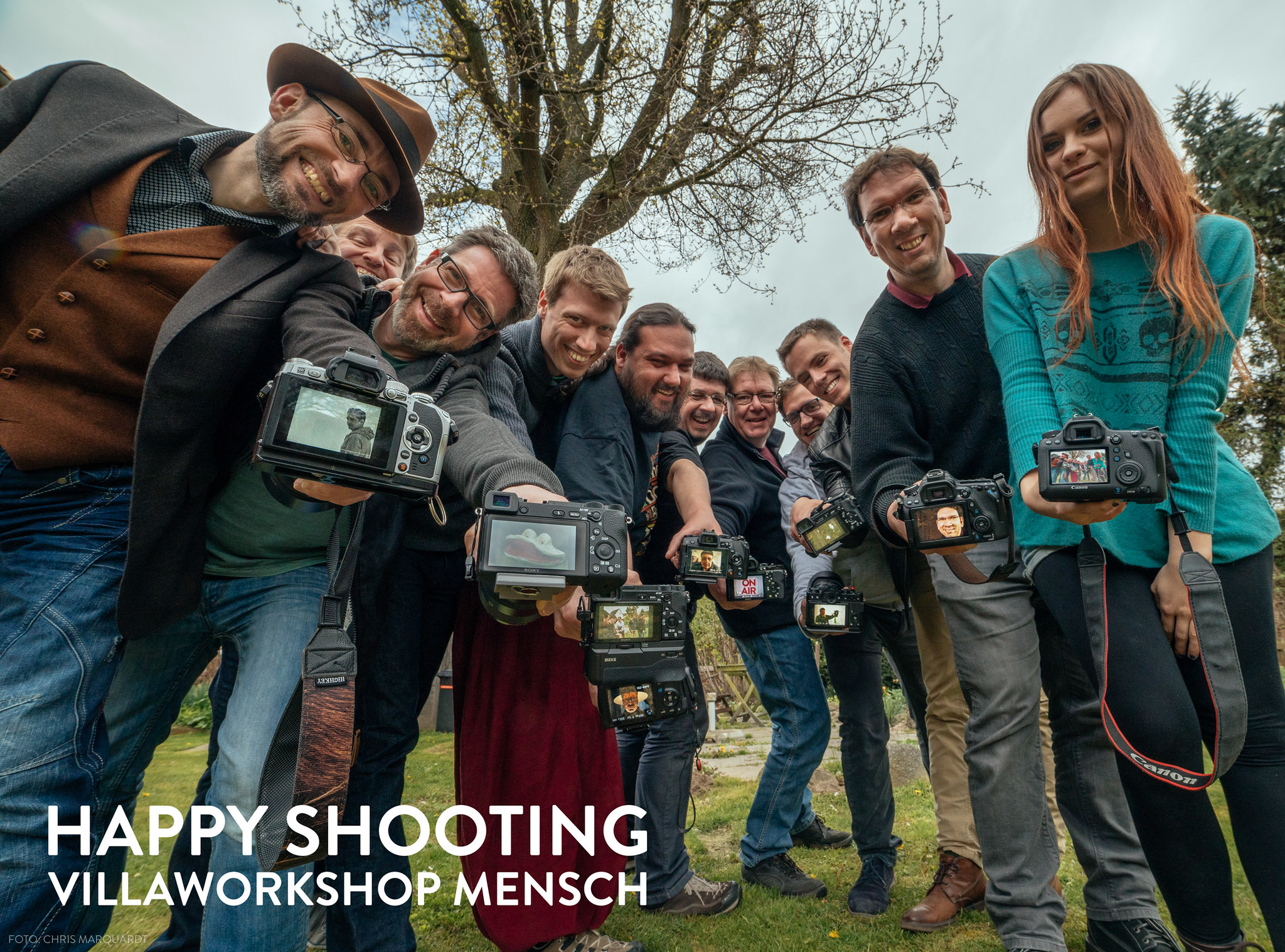 Villaworkshop Mensch 2017 - Happy Shooting - Gruppenbild