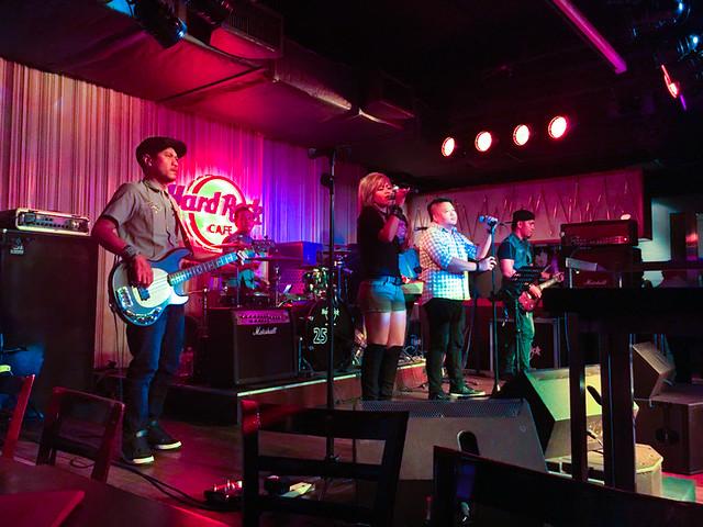 Hard Rock Cafe Kuala Lumpur - Live Band Performance