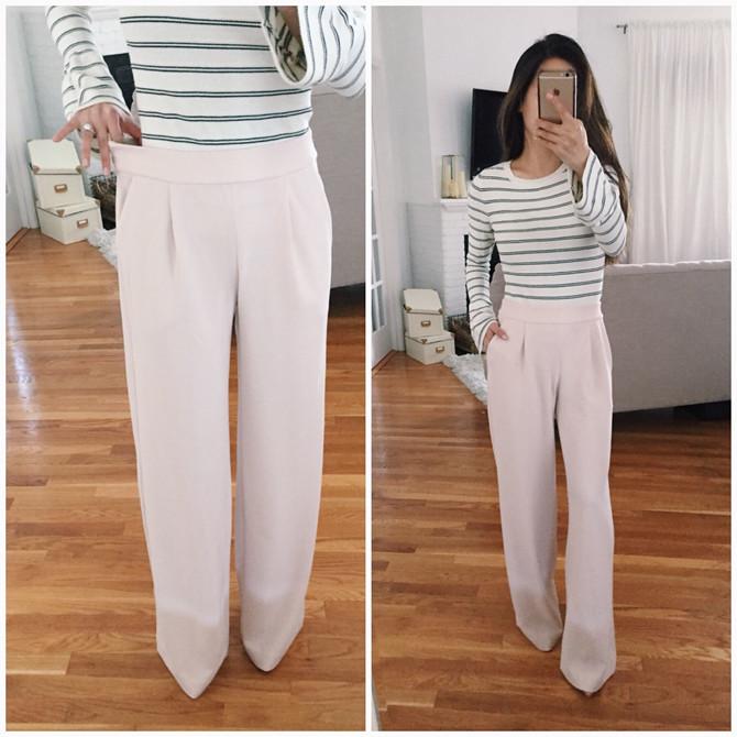 express soft wide leg trouser pants short