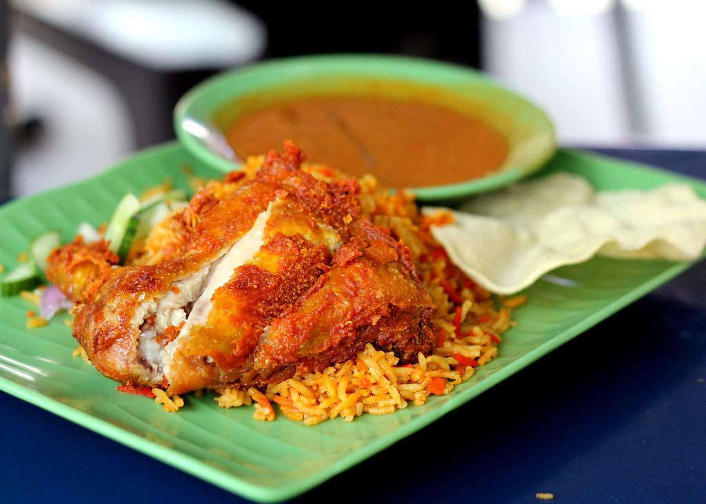早餐在西方:第六大道Briyani专家鸡