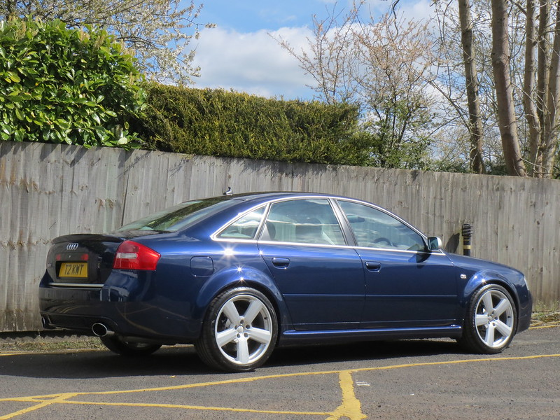 2003 RS6 saloon £11990