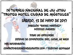 Cartel oficial Rincón jiu Jitsu