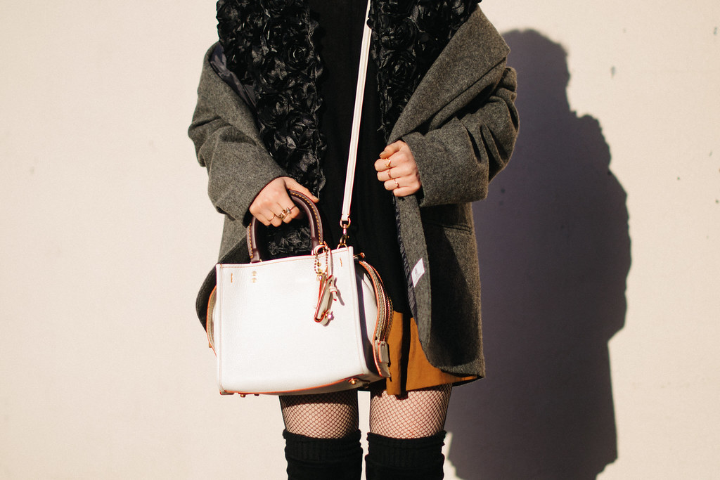 #GoRogue Coach Bag on juliettelaura.blogspot.com